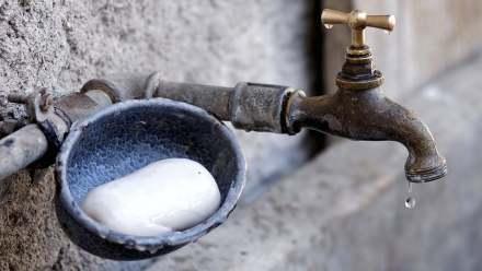 csap szappannal